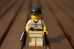 Russian WWII Officer (zalbaar) Tags: lego ww2 russian officer zalbaar