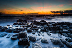 () Tags: morning light sea sky beach sunrise landscape nikon taiwan           nikond4