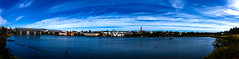 Reykjavik by the Pond (Petur 'Wazhur' Jonsson) Tags: panorama canon landscape eos photo iceland reykjavik efs 30d photograpy 1755 thepond