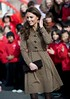 Catherine, Duchess of Cambridge aka Kate Middleton arrives at Rose Hill School Oxford, England