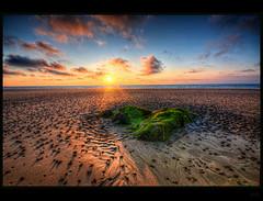 Thousands (Kemoauc) Tags: sunset sky cloud france beach rock nikon brittany bretagne hdr topaz pabu photomatix d300s kemoauc