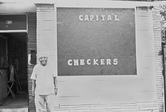 Capital Checkers (KDPfotos) Tags: dc washington strangers photojournalism 1600 checkers pushed tmax400