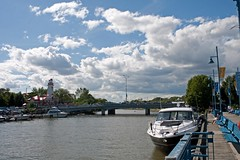Port Credit Harbour (Dan Armishaw) Tags: park sky cloud ontario canada port mississauga portcredit