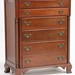 75. Mahogany Tall Chest