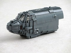 B-52 Work In Progress -forward fuselage (Mad physicist) Tags: lego workinprogress wip bomber usaf b52 stratofortress