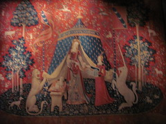 My Sole Desire (M & J Hos) Tags: paris art medieval tapestries medievalart ladyandtheunicorn museedumoyenage museedecluny ladamealalicorne