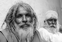 Naga Sadhu and Baba (Eye In The Sky Photography) Tags: india god spirit religion beggar holy spiritual shiva hindu hinduism sect baba sadhu
