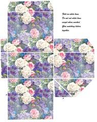 Cardbox -floral - part a (Charlotte Clarke Geier) Tags: computer print crafts digitalart computercrafts