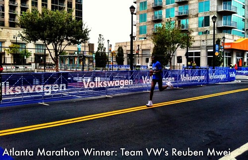 Atlanta Marathon Recap of Team VW Activities