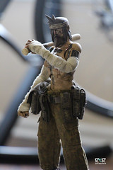 3A SGR JC (radtoyreview) Tags: toy toys actionfigure tattoos 3a jc 16 arttoys toycollector artfigures ashelywood zombs threea adventurekartel tommymission