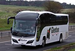 Parks of Hamilton Glenton, Volvo Plaxton Elite 2RWM (andyflyer) Tags: bus volvo coaches blackford a9 glenton coachtravel parksofhamilton plaxtonelite 2rwm
