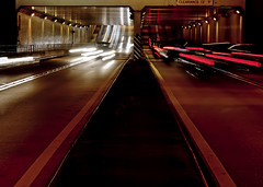 Whoosh (D()MENICK) Tags: cars assignment tunnel passing weekly active aaw bestofweek1 bestofweek2