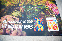 Philippines  Tourist Board (JCDecaux Innovate) Tags: green board domination philippines tourist waterloo banners pennants experiential stationdomination itsmorefuninthephilippines motionwaterloo