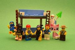 LEGO Movie Summer Party! (th_squirrel) Tags: movie lucy lego good president ghost bad 15 lord business cop batman benny minifig minifigs minifigure emmet wyldstyle minifigures vitruvius unikitty doubledeckercouch
