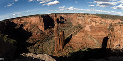 Spider Rock (MikeWeinhold) Tags: panorama canyondechelly spiderrock navajotribalpark