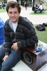 PZ20160513-043.jpg (Menlo Photo Bank) Tags: ca boy people music favorite usa us spring student technology ryan engineering quad science event individual atherton 2016 engaging upperschool makerfaire menloschool photobypetezivkov appliedscienceresearch