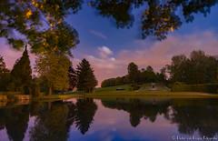 Gardens of Annevoie at night. (PvRFotografie) Tags: longexposure nature night belgium nacht belgi natuur nd bluehour 20mm sony20mmf28 gardensofannevoie triggertrap sonyslta99 bw110mrcfprondfilter