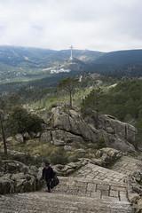 Penitencia (Csar Fraile) Tags: madrid espaa de los spain valle comunidaddemadrid viacrucis sierrademadrid cados lajarosa