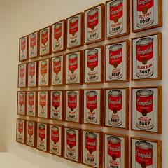 MoMA (h4mster) Tags: nyc newyorkcity art museum contemporaryart modernart moma warhol fujifilm campbells x100s