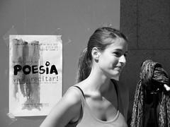 Ready to Poetry Reading at the UPF, Ciutadella Campus, Barcelona (heraldeixample) Tags: barcelona espaa woman girl de reading mujer spain poetry chica bcn catalonia poesia catalunya frau noia mdchen catalua dona lectura catalogna espanya poema catalogne upf poemes pompeu university reading poesia poetry pesa albertdelahoz heraldeixample universitat fabra lectura