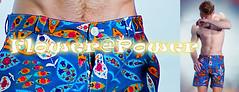 FLOWER@POWER (J#K) Tags: summer flower male beach fashion power short t mode plage flowerpower homme masculin menswear