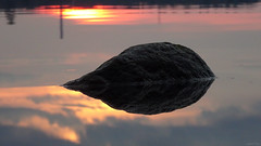 Sunrise Glow + Rock Reflection (SOOC) water comet? dinosaur? (crush777roxx) Tags: ocean camera sunlight reflection water rock sunrise dawn early glow dinosaur sweden stockholm sony may 2nd trail sverige monday crush comet gärdet compact sunreflection waterreflection gardet ostermalm compactcamera östermalm 2016 stockholmsweden morningsunrise sooc rockinwater straightoutofcamera stockholmspring swedenspring dawnsunrise hx90v sonyhx90v crush777roxx 20160502 sunrsiereflection sverigespring