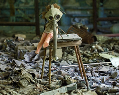77 - Prypyat School Gas Masks and Dolls - Chernobyl (Craig Hannah) Tags: school abandoned toy doll dolls decay ukraine disaster disused 1986 derelict restricted chernobyl gasmasks 2016 exclusionzone restrictedzone prypyat nucleardisaster hazardousarea zoneofalienation 30kilometrezone radioactivecontamination craighannah