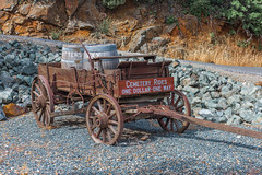 RHM_2130-1487.jpg (RHMImages) Tags: california foothills sign town us nikon unitedstates barrels historic mines western roadside roadsideattraction oldwest roughandready d810 roughready cemeteryrides