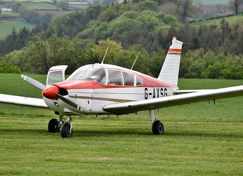 G-AXSG - Piper PA-28-180 Cherokee E  Eggesford