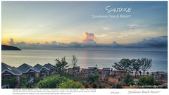Sunrise @Sandunes Beach Resort (rusamesame) Tags: sea beach clouds sunrise landscape seaside sand dune vietnam sanddune beachresort