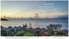 Sunrise @Sandunes Beach Resort (rusamesame) Tags: sea beach clouds sunrise landscape seaside sand dune vietnam sanddune beachresort