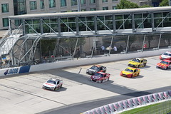 "A view of the ""Monster Bridge"" over the Dover Speedway (Hazboy) Tags: auto bridge usa car monster race america drive us may racing nascar series delaware sprint dover mile aaa autism speedway 2016 hazboy hazboy1"