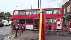 (video) Arriva DW46 (LJ53NHO) gets towed by Ensign 18th May 2016 at Enfield bus garage (BristolRE2007) Tags: bus buses towtruck enfield arriva ensignbus arrivalondonnorth
