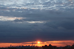 2016May23 (3) (ShellyS) Tags: nyc newyorkcity sunset sky skyline clouds manhattan skylines sunsets