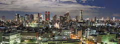 Shinjuku Pano (kbaranowski) Tags: longexposure urban japan skyline architecture modern night skyscraper outdoors photography tokyo shinjuku cityscape citylife tranquility nopeople panoramic illuminated transportation tokyotower nippon japaneseculture touristattraction nihon urbanlandscape tokio ontheway roadtraffic urbanstreet urbanstreets capitalcities famousplace buildingexterior touristdestination elevatedview elevatedhighways krzysztofbaranowski 2016krzysztofbaranowski