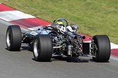 1_Brabham_31aug14Zvoort05 (Heron81) Tags: 1 hgp zandvoort brabham harc davidbrabham jackbrabham historicgrandprix bt24 circuitparkzandvoort historischeautorenclub historischegrandprix
