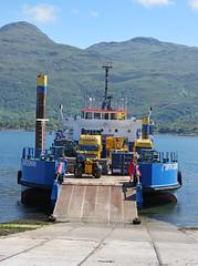 Forth Guardsman at Kyle of Lochalsh (Elmer Duck) Tags: scotland ship vessel landingcraft kyleoflochalsh forthguardsman samsung1650mm samsungnx1
