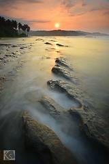 Karang Beareum, Sawarna (Shahrulnizam KS) Tags: sunrise indonesia sunda sundanese sawarna banten