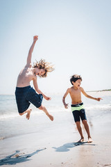beach boys (mitulspatel) Tags: ocean sea summer beach boys childhood kids fun happy jumping sand surf northshore cranebeach childred
