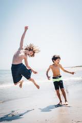 beach boys (mitulspatel) Tags: ocean sea summer beach boys childhood kids fun happy jumping sand surf northshore cranebeach childred
