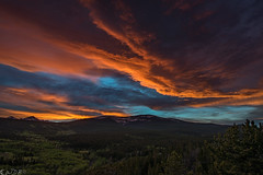 When being scattered is good (Bill Bowman) Tags: sunset clouds colorado frontrange niwotridge scatteredlight mountainresearchstation