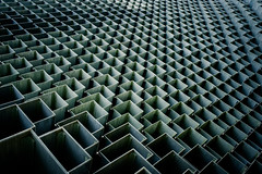Cubism #3 (Sean Batten) Tags: city england urban sculpture london architecture 35mm nikon df artgallery unitedkingdom gb boxes kensingtongardens serpentinegallery bjarkeingelsgroup