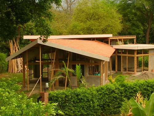 Cubiertas casas bambú - a photo on Flickriver