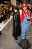 Kingdom of Hearts and Mario (V Threepio) Tags: day2 costumes cosplay saturday mario anaheim daytwo kingdomofhearts wondercon2012