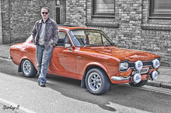 Classic Ford Escort (sparkeyb) Tags: ford car nikon classiccar transport vehicle 40mm escort chelmsford motoring cs5 d7000 topazadjust sparkeyb