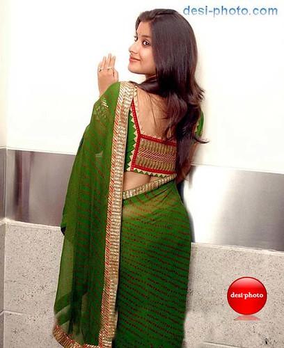 Sexy indian girl in saree