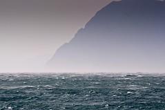 Grey Havens (Christophe_A) Tags: blue sea mountain rio fog grey nikon day greece nd christophe grad patra d90 greyhavens nikon70300