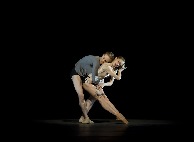 "Edward Watson and Marianela Nunez in Wayne McGregor's Infra. The Royal Ballet 2009/10 season.   <a href=""http://www.roh.org.uk/whatson/production.aspx?pid=7067&claim_session=1"" rel=""nofollow"">www.roh.org.uk/whatson/production.aspx?pid=7067&claim...</a> Photo by Bill Cooper."