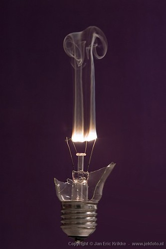 Burned Lightbulb