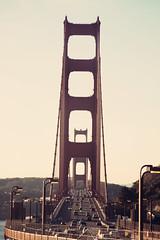Happy 75th Birthday (Leighton Wallis) Tags: sanfrancisco california road birthday ca usa tower cars traffic anniversary unitedstatesofamerica goldengatebridge end vistapoint 75thanniversary ggnpc11